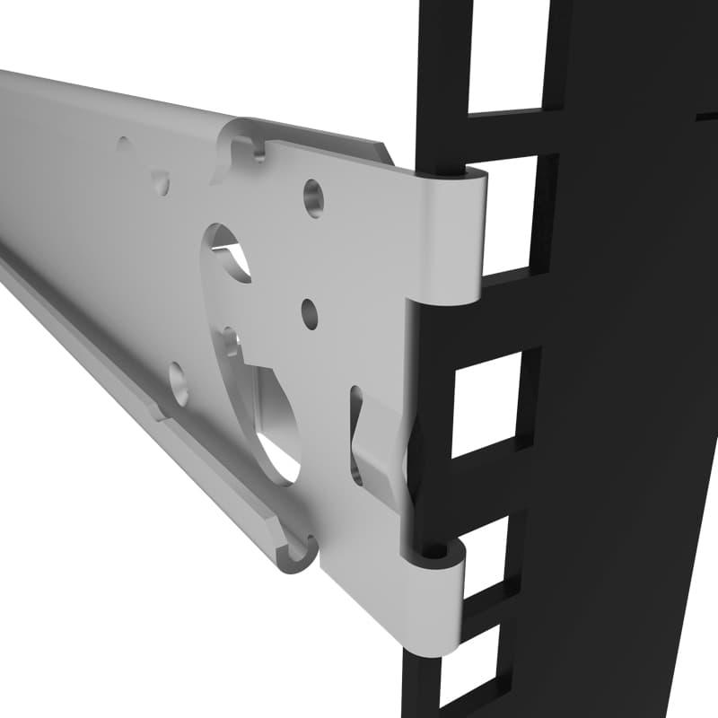 Mini Rack Rack Shelf for Mac Mini (3rd and 4th Generation) Tool-less Installation