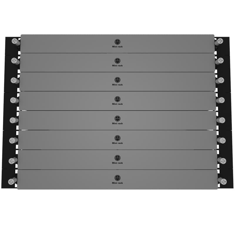 Mini Rack Rack Shelf for Mac Mini (3rd and 4th Generation) Compact 1U Design